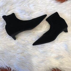 Zara Knit Slip On Booties
